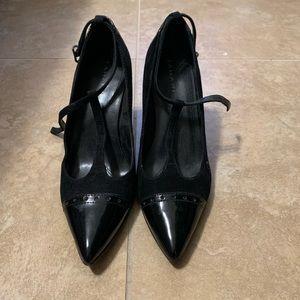 Toe cap heel